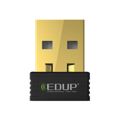 EDUP Raspberry Pi 2/3 Model B & A+ Wireless Nano USB WiFi 802.11n 150Mbps Adapter/Dongle - Gold Edition