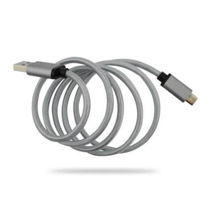 Gionee A1 Plus, S6s USB-C(Type-C) to USB-A 3.1 Charger/Data Lead Wire Cable - Grey