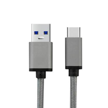 LG G6/G5 Smartphone USB Type-C to USB 3.1 Charger/Data Wire Lead Cable - Grey
