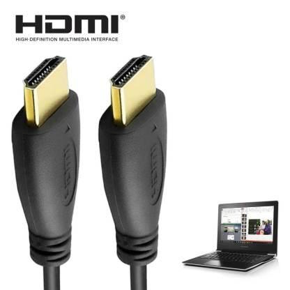 Lenovo Ideapad 100 S, 500, Y70, Yoga 300 Laptop HDMI to HDMI TV 3m Gold Cord Wire Lead Cable