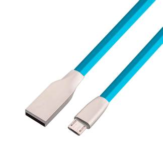 Lenovo Tab 3, 2 tablet micro USB Charger/Data Lead Wire Cord Cable - Blue