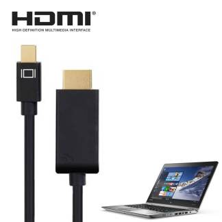 Lenovo ThinkPad Yoga 260, 460 Laptop Mini DisplayPort(DP) to HDMI TV/Monitor 1.5m Gold 4K Black Adapter Cord Wire Lead Cable