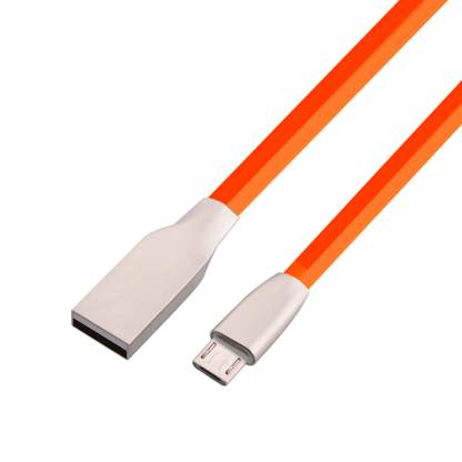 Microsoft Lumia 650, 640 XL, 535, 435 Micro-USB-B Charger & Data Sync Laptop PC Lead Wire Cord Cable - Red