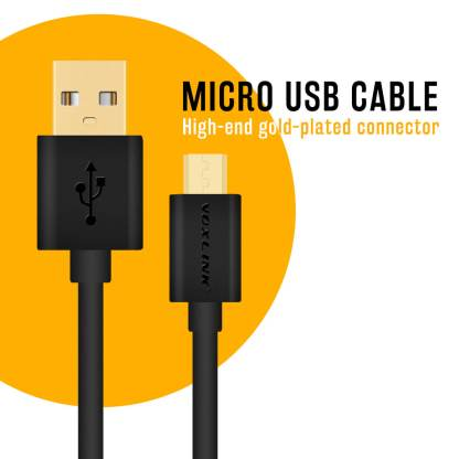 Voxlink USB Micro Charger/Data Lead Wire Cord Cable for Alcatel Pixi 3, 4