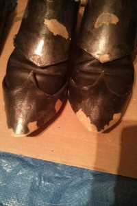 Daedric Armor WIP - Boots