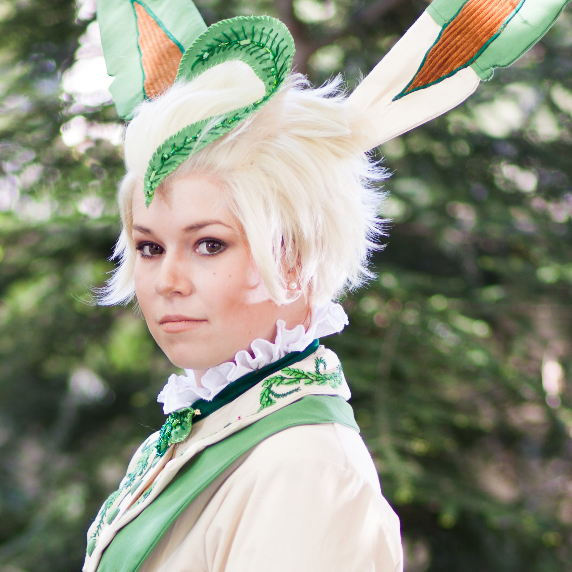 Print - Leafeon Cosplay