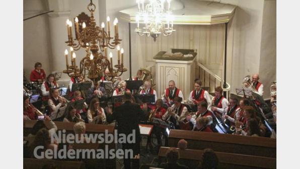 Winterconcert in de kerk in Enspijk
