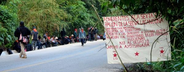 #FestivalRyR #AlertaBachajón URGENT Possible threat of eviction of compañeros from San Sebastián Bachajón