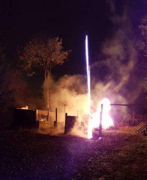 Secret Garden Launch and Bonfire Night