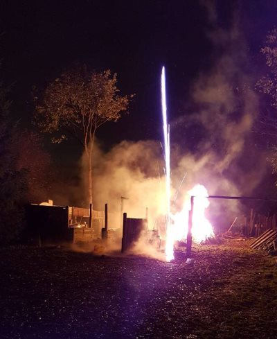Secret Garden Launch and Bonfire Night