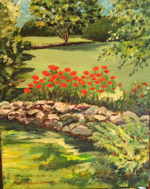 PATTI CAMPBELL EXHIBITS AT THE DORSET LIBRARY IN SEPTEMBER