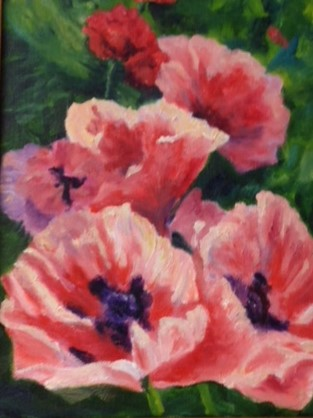 KATHERINE BUCHMAYR EXHIBITS AT THE DORSET LIBRARY IN FEBRUARY