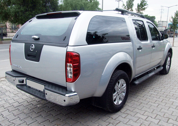 nissan navara hardtop navara canopy navara laderaumabdekung. Black Bedroom Furniture Sets. Home Design Ideas