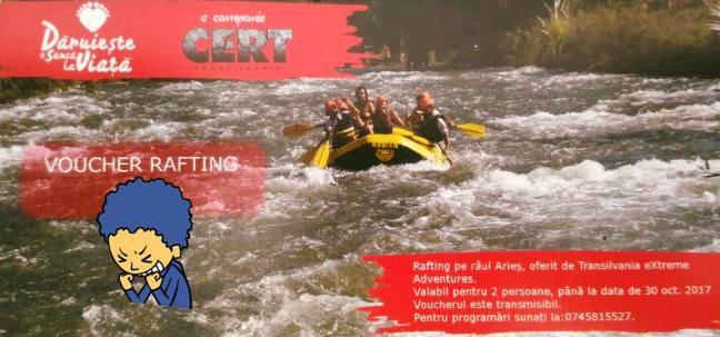 "Voucher ""Rafting"""