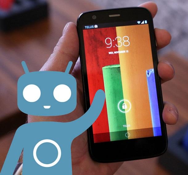 Moto 4 4G CyanogenMod 11
