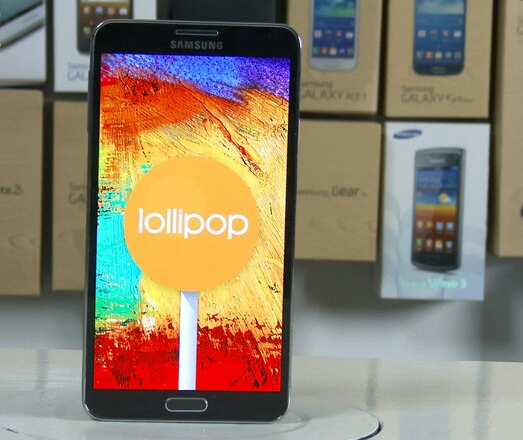 cm 12 android 5.0 lollipop for note 3
