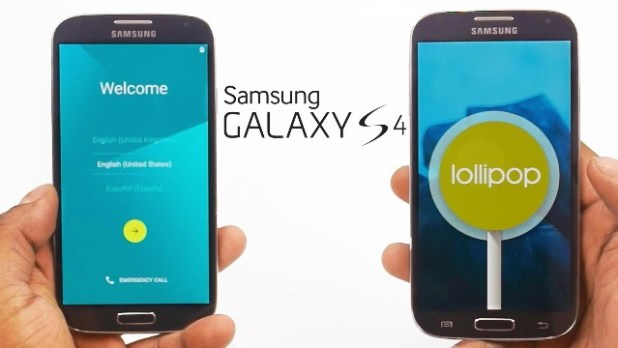 galaxy s4 android 5.0.2 lollipop cyanogenmod 12