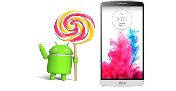 lg g3 official lollipop update
