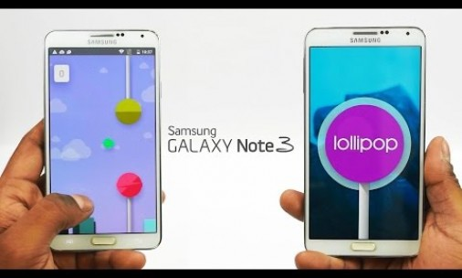 galaxy note 3 android lollipop sotck firmware
