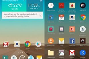 LG G3 Launcher and Weather Widget