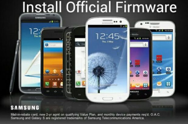 official firmware for any Samsung device