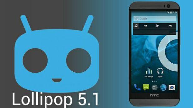 CyanogenMod 12.1 Lollipop 5.1 for HTC One M8