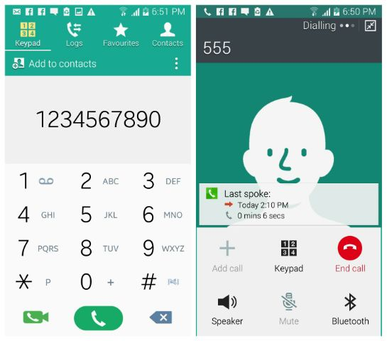 Download Galaxy S5 Lollipop Dialer & Contacts On Galaxy S3 KitKat