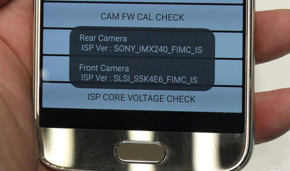 How To Check Camera Sensor Manufacture On Galaxy S6 (Sony
