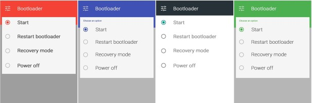 Material Design bootloaders for Nexus 5
