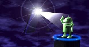 Android flashlight vs natural light