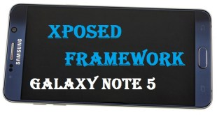 Xposed Framework for Galaxy Note 5