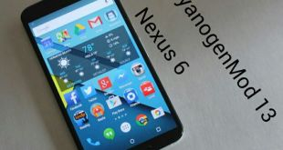 CyanogenMod 13 for Nexus 6