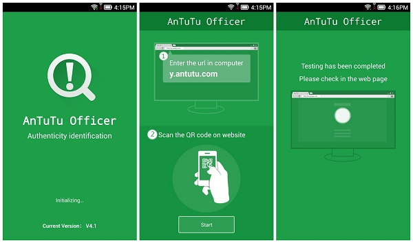 Antutu Officer Phone Authenticity Verifier