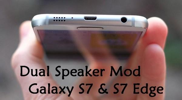 Dual Speaker Surround Sound mod Galaxy S7,S7 Edge