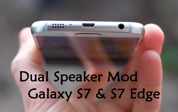 Dual Speaker Surround Sound mod Galaxy S7,S7 Edge