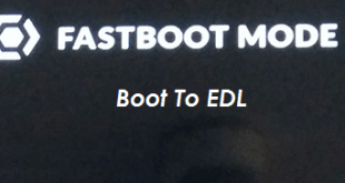 Enter Boot To EDL Via Fasboot Mode