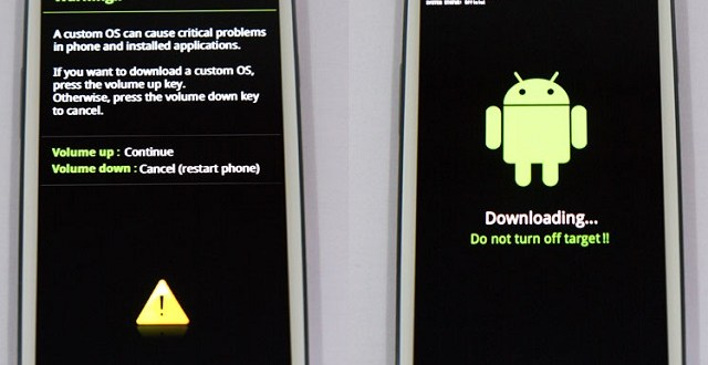 Galaxy Device Download Mode