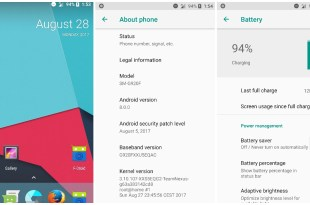 Android 8.0 Samsung Galaxy S6
