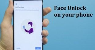 Face Unlock OnePlus 5T