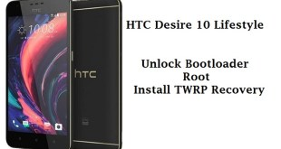 HTC Desire 10 Lifestyele unlock bootloader root and twrp recovery
