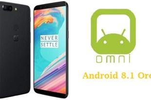 OnePlus 5T OmniROM