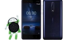 Android Oreo Nokia 8