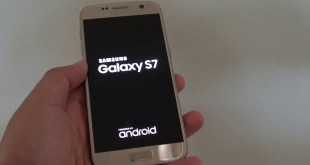 Galaxy S7 Power On
