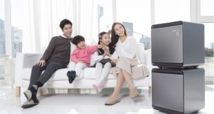 Samsung's mdodular air purifier