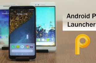 Android 9.0 P launcher