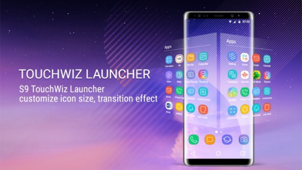 Download Samsung Galaxy S9 TouchWiz Launcher APK & ZIP