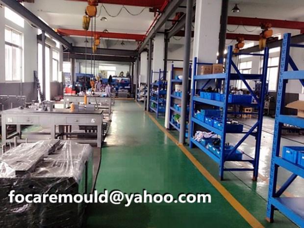 China doble color del molde