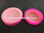 China 2K tapa molde cosmetica jar