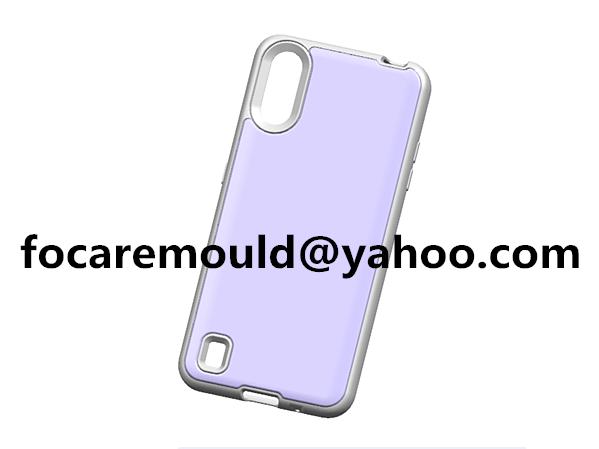 Carcasa de telefono movil de doble color