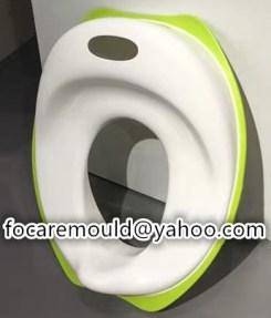 Asiento de inodoro para bebe de molde 2k